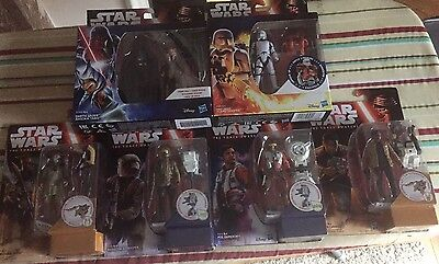 "Star Wars The Force Awakens Action Figures 3.75 "" BUNDLE OF 6 New"