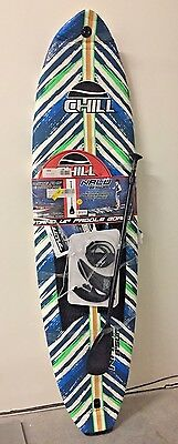 Chill Nalu 8' Stand-Up Paddle Board Package Blue/Green - MSRP $529