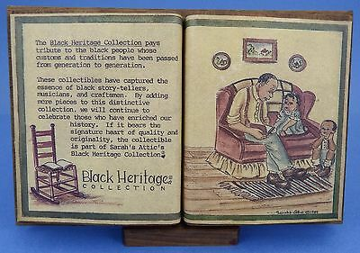 """Sarah'S Attic """"Black Heritage Collection"""" Open Book"""