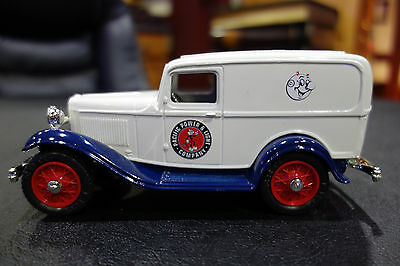 REDDY KILOWATT ERTL FORD PACIFIC POWER & LIGHT DIE CAST Panel Delivery 1:25 BANK