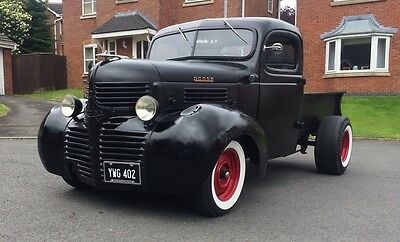 Dodge Pickup Turbo powered Truck 1945 Classic American cars Hotrod