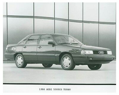 1986 Audi 5000CS Turbo Automobile Factory Photo ch4692
