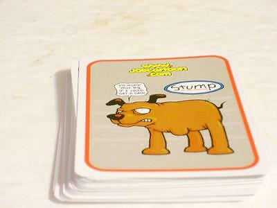 Joe Cartoon Playing Cards Stump The Three Legged Dog On A Roll! Co. 2000 (53)