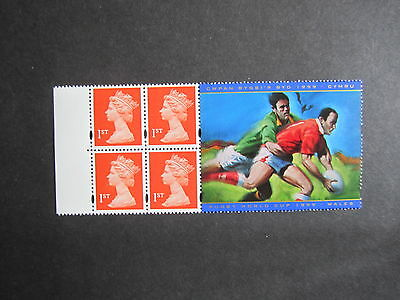 1999 Rugby World Cup Booklet Panel-Hb18