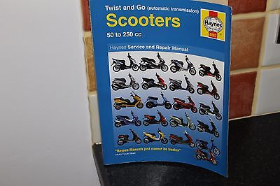Haynes 4082 TWIST & GO SCOOTERS Workshop Manual.....** FREE POSTAGE **