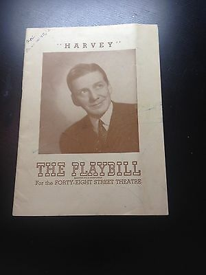 1946 PLAYBILL - HARVEY - The Forty Eighth Street Theatre