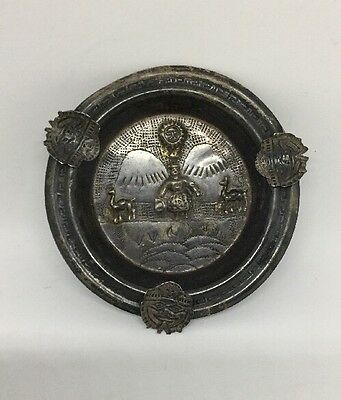 Vintage Sterling Silver Ashtray