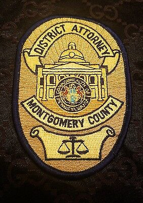Montgomery County District Attorney Patch NEW