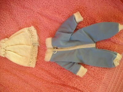 """Snowsuit, hat for Ginnette size doll - 8"""""""