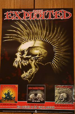 the exploited ,poster, DIN A2, punk,hardcore