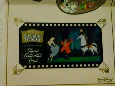 Walt Disney Classic Collectible Sleeping Beauty Card with Cell-Suncoast