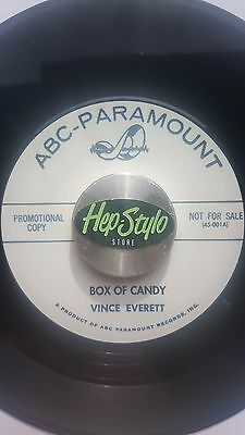 Vince Everett 45 Re - I'm Snowed/box Of Candy - Unissued 60S Rockers Listen