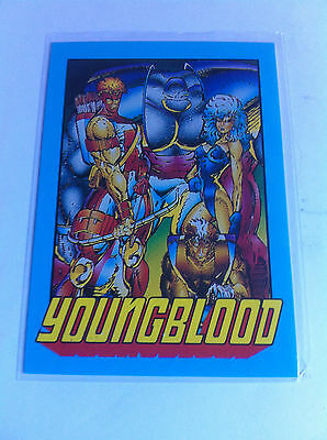 1992 Rod Liefeld Youngblood Promo Trading Card