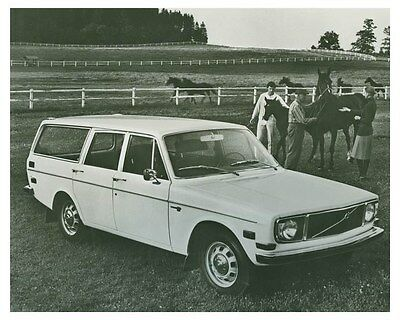 1971 Volvo 145 Station Wagon Automobile Factory Photo ch4984