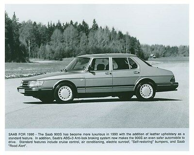 1990 Saab 900S Automobile Factory Photo ch4957