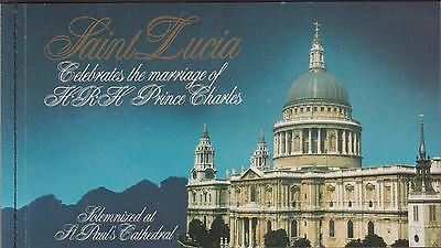 St Lucia-1981-Royal Wedding Booklet