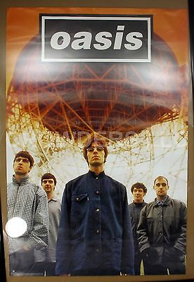 "Rare Hard to Find 1995 Oasis 24x36"" Poster YC 66431 Epic Records Rock Britpop"
