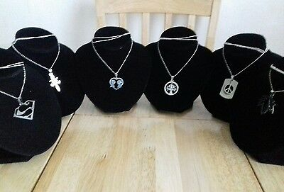 Joblot 6 New Necklaces Bagged