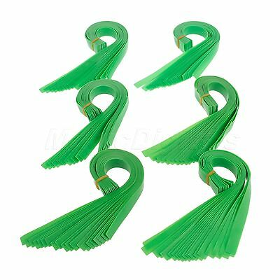 10 Multiple Thickness Green Slingshot Flat Rubber Band Catapult Elastic Elastica
