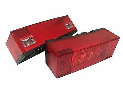Five Oceans Marine LED Square Submersible Trailer Light Kit BC 3938-1