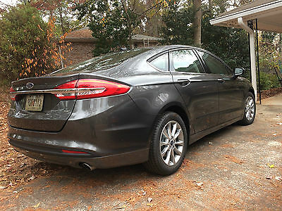 2017 Ford Fusion SE Sedan 4-Door 2017 Ford Fusion SE PURE SALE  2.5L 36K warranty