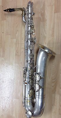 "F E Olds Baritone Saxophone ""The Parisian"""