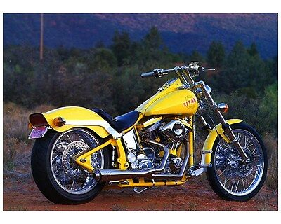 1998 1999 Titan Sidewinder SX Motorcycle Factory Photo ca7258