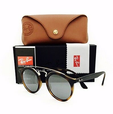 632ad674997  175 RAY-BAN GATSBY Sunglasses RB4256 Tortoise Frame Green Mirror ...