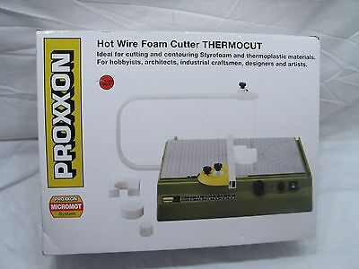 Proxxon Thermocut Hot Wire Foam Cutter Hobby Model Craft Tool Unused w/Box 37080