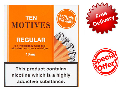 10 Motives, Ten motives regular 16mg x5 (10packs)