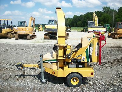 2010 Vermeer BC600XL towable chipper, AutoFeed II system, Kohler gas, 602 hours