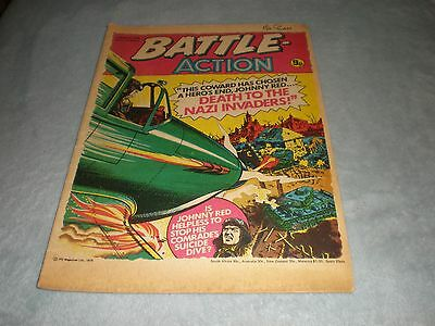 Vintage Battle Action Comic Book - 4 March 1978 Birthday Idea