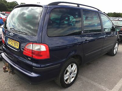 2003 Ford Galaxy 1.9 Td Ghia 7 Seats, Leather, Climate,alloys,cd,cruise,h/seats