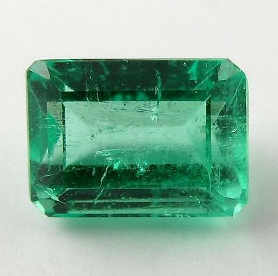 1.24 ct Natural Colombian Emerald Loose Gemstone