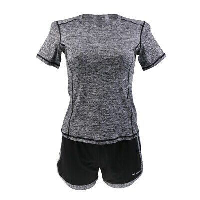Women Ladies Sport Yoga Set Gym Running Sportwear Suit Fitness Clothing Workout