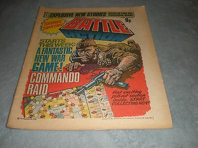 Vintage Battle Action Comic Book - 15 July 1978 Birthday Idea