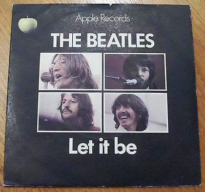"The Beatles--Let It Be--You Know My Name--7"" Vinyl 45-Apple 5833--Picture Sleeve"