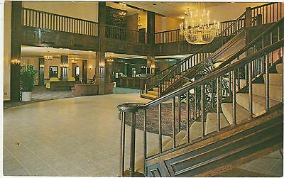 Ramada Inn Interior West Knoxville Tennessee TN Vintage Postcard Chrome