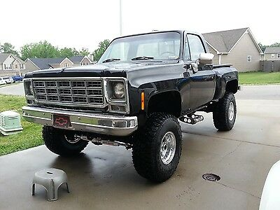 1979 Chevrolet C-10  1979 chevy stepside step side truck pickup 4x4 4 wheel drive classic