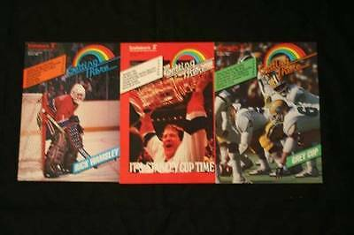 Lot of 3 Scotiabank Getting There Issues  1984 (Jan, Apr & Nov)  Guy LaFleur