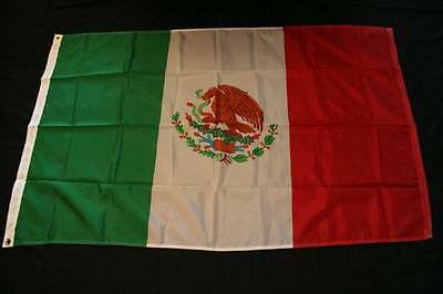 Mexico Flag -Full Size Nylon Flag  New Condition!