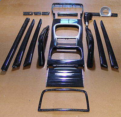 Porsche Cayenne 17pc Genuine Carbon Fiber Interior Set up to 2010 Pre Facelift