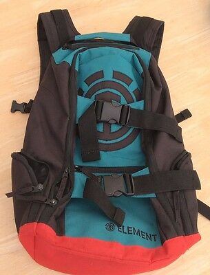 Element Mohave Red, Turquoise and Black Backpack / Rucksack