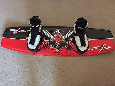 Air Nautique Wakeboard with Large CWB Bindings