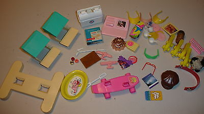 Large 1990's to 2000 Barbie & Others Accessory Lot!