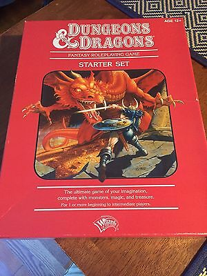 Dungeons and Dragons Starter Set 4th Ed NEVER PLAYED WOTC 2010 Complete Red Box