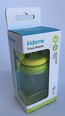 Kidsme Food Feeder For Introducing Solids Lime Green Large BPA Free 6 months +