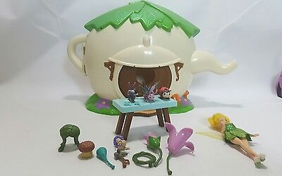 Disney Store Tinkerbell Teapot Playset with Tink