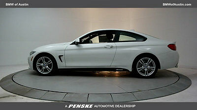 2017 BMW 4-Series 430i 430i 4 Series 2 dr Coupe Automatic Gasoline 2.0-LITER TWINPOWER TURBO Alpine Whi