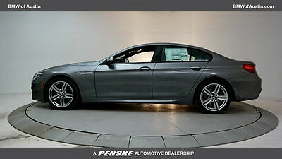 2017 BMW 6-Series 650i Gran Coupe 650i Gran Coupe 6 Series New 4 dr Automatic Gasoline 4.4L 8 Cyl Space Gray Metal